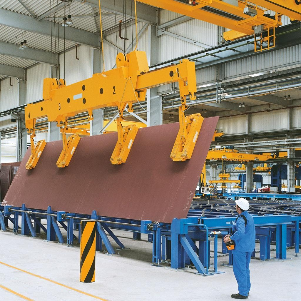 Overhead Crane Assembly : Magnetic overhead crane jinrui machinery