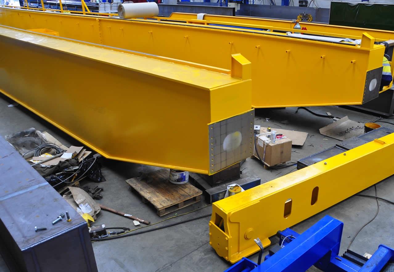 Double Beam Bridge Crane Jinrui Machinery