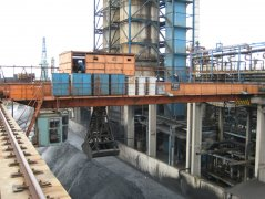Coal Scrap Grab Overhead Crane