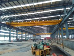 LH Double Girder Overhead Bridge Crane