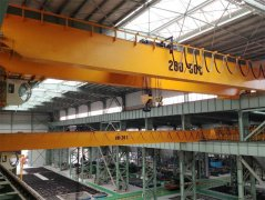 Double Hook Overhead Bridge Crane Design