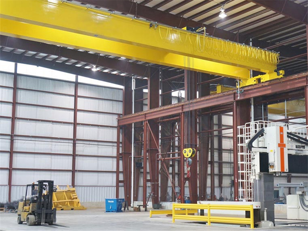 Electric Hoist Double Girder Overhead Crane Jinrui Machinery