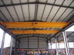 Manual Double Girder Overhead Crane