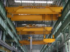 Metallurgy Casting Double Girder Overhead