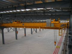 Double Trolly Overhead Crane